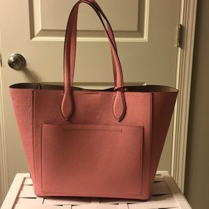 NWOT Super Cute Cole Haan Pink Leather Tote
